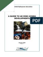 A Guide to UK Mini-hydro Developments
