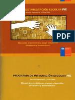 4 Programa de Integracion Escolar PIE