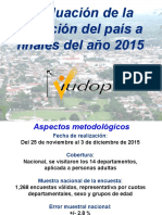 IUDOP Evaluación del país Año 2015 - El Salvador