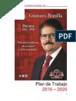 Plan de Trabajo 2016-2020