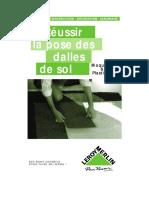 La pose des dalles de sol moquette et plastique.pdf