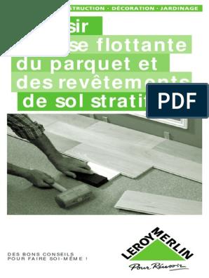 La Pose Du Parquet Flottantpdf Nature