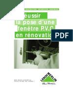 La pose d'une fenêtre PVC en rénovation.pdf