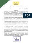 Declaración Federación Metropolitana de Funcionaros Municipales FEMEFUM