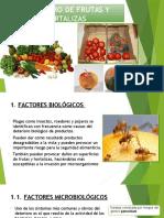 Deterioro de Frutas y Hortalizas