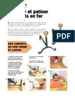 Nettoyer et patiner les objets en fer.pdf