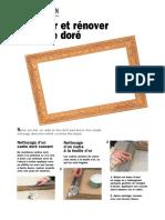 Nettoyer et rénover un cadre doré.pdf