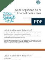 Seguridad Internet de Las Cosas160316