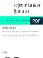 water quality lab