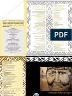 Programa Cantata Mapudungun