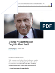 5 Things President Monson Taught Us About Death  LDS Living