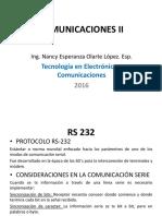 RS-232 y Señales en Comunicaciones