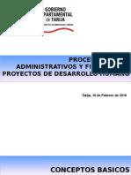 Procedimientos AdminsitratPROCEDIMIENTOS ADMINSITRATIVOS FINANCIEROS ivos Financieros Feb 2010
