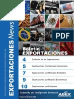 Boletin de Exportaciones Diciembre 2015