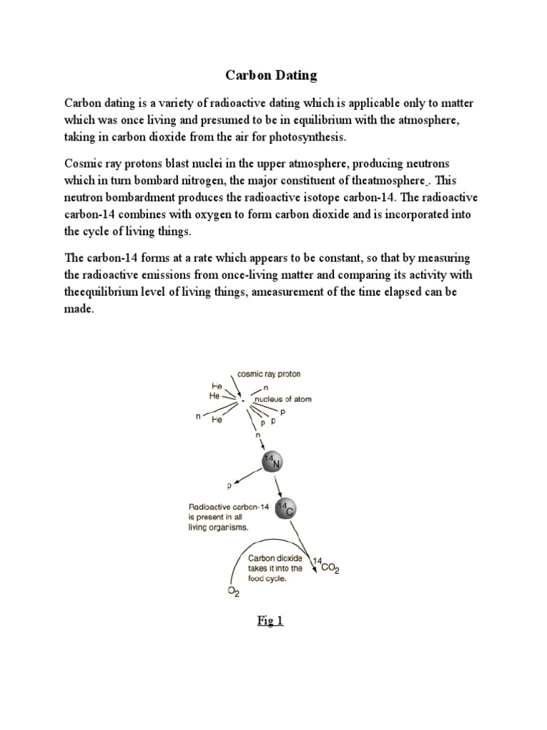 Welke koolstof isotoop wordt gebruikt voor radiocarbon dating en hoe werkt het