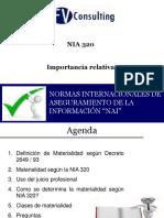 NIA320- Importancia Relativa(Participantes)