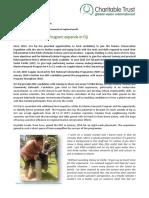 2016 - 01 Jan GVI Fiji Caqalai Achievement Report NSP Program