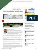 03-18-2016 Gobierno Municipal Realizó El Tercer Concursó Municipal de Bandas de Guerra