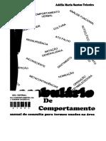 Teixeira, A. M. S (2006). Vocabulário de Análise Do Comportamento