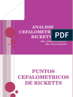 Analisis Cefalometrico de Ricketts