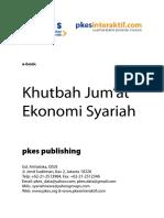 Kumpulan Khutbah Jumat Tentang Ekonomi Syariah