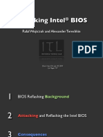 Attacking Intel BIOS