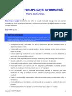 Administrator Aplicatie Info