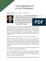 A Palavra de Sabedoria - O Princípio e as Promessas - Boyd K. Packer.pdf