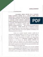 Denuncia contra Pérez