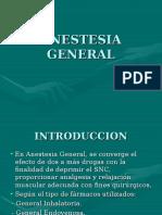 Anestesia General II