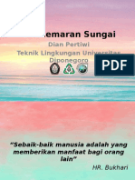 Pencemaran Sungai