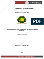 Analisis Sismico Estatico-02 Pisos