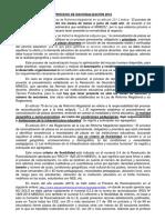 PROCESO DE RACIONALIZACIÓN 2016