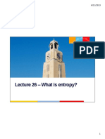Thermodynamics Lecture 26