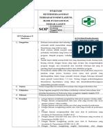 Sop Evaluasi Ketersediaan Obat Terhadap Formulariu, Hasil Evaluasi Dan Tindak Lanjut