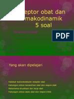 Reseptor Obat Dan Farmakodinamik
