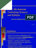 Basic Mechanism of Epilepsy n Seizures