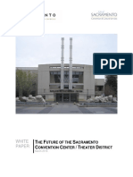 Sacramento Community Center Theater White Paper