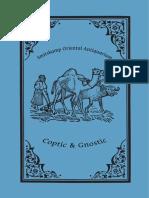 Catálogo de Palavras Coptas e Gnósticas (Inglês)
