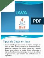3-Tipos de Datos en Java