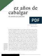 Cabeza de Caballo Sebastián.