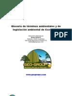 GLOSARIO DE TÉRMINOS AMBIENTALES Y DE LEGISLACIÓN AMBIENTAL