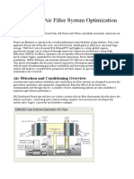 Gas Turbine Air Filter System Optimization