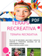 TERAPIA RECREATIVA