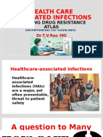 Health care associated infectionscreating drug resistance atlas