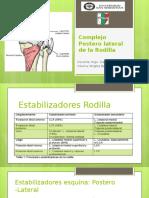 Complejo Postero Lateral de La Rodilla