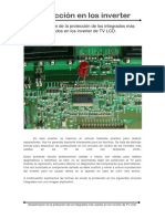 Protección de Los Integrados Más Usados en Los Inverter de TV LCD