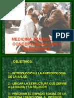 MEDICINA TRADICIONAL. Especialidad en Salud Publica