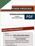 11. Harga Pokok Produksi