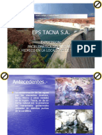 Problematica Arsenico Eps Tacna 2011